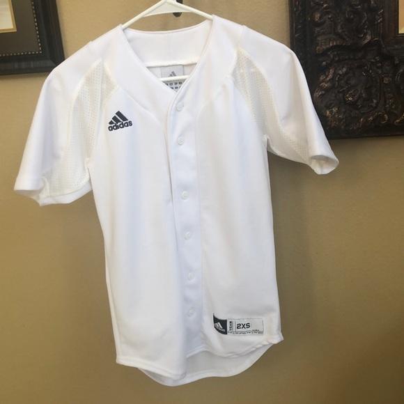 Adidas Button Up sports shirt/ jersey